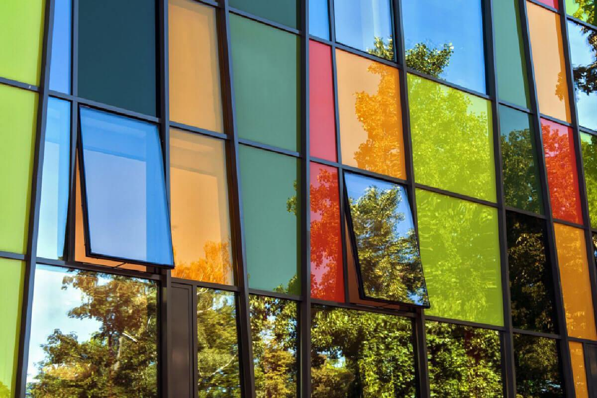 Coloured Aluminium Windows Birmingham